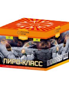 """Салют ПИРО КЛАСС 1,2"""" дюйма (30 мм.) калибр 49 залпов"""