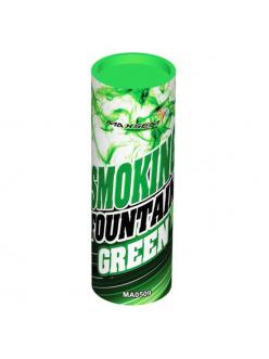 Цветной дым в Тюмени (Зеленый)