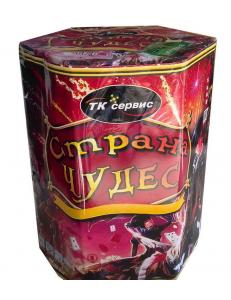 "Салют СТРАНА ЧУДЕС 1,2"" дюйма (30 мм.) калибр 19 залпов"