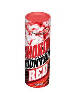 Цветной дым в Тюмени (Красный)