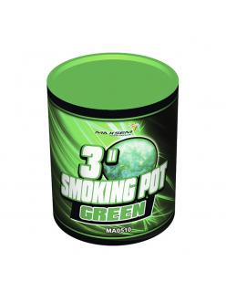 Цветной дым SMOKING POT зеленого цвета (60 сек)