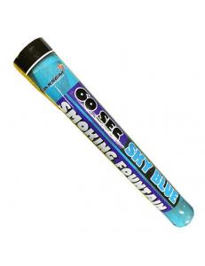 Цветной дым голубого цвета (60 сек)