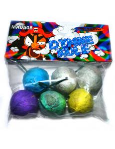 Набор цветных дымовых шариков 6 шт.