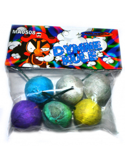 Купить Набор цветных дымовых шариков 6 шт.  в Тюмени