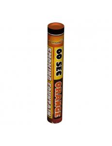 Цветной дым оранжевого цвета (60 сек)