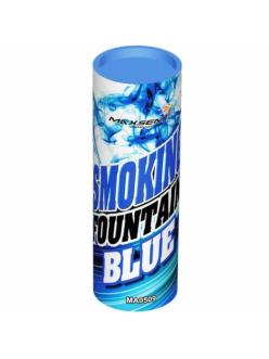 Цветной дым в Тюмени (Синий)