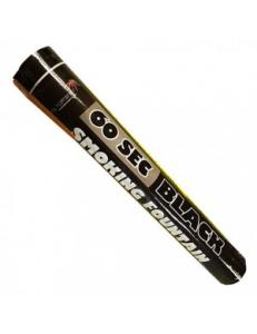 Цветной дым черного цвета (60 сек)