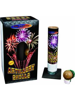 Фестивальные шары ARTILLERY SHELLS 6 зарядов + мортира