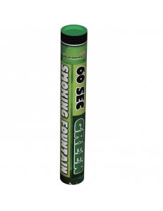 Цветной дым зеленого цвета (60 сек)